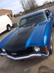 EPIC 1972 454 CHEVELLE SS CLONE JUST BEING FINISHED (NEW)
