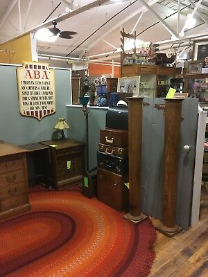 Used, Two Oak Columns - Architectural - Vintage Interior Decorations Accent Pieces for sale  Strasburg