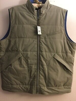 Pick Stitch Jacket - NWT PETER MILLAR Pick Stitch Full Zip Reversible Quilted Vest Jacket S L $495