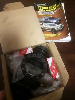 Genuine Hilux Front CV Joint Boot Kit, Wheel Bearings & Manual