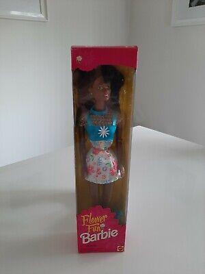 Vintage Barbie Mattel Boxed Flower Fun