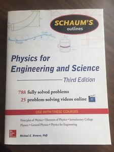 Schaum's: Physics for Engineering and Science