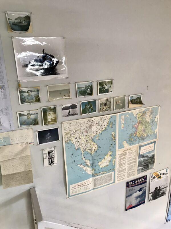 Vietnam War Photographs All Hands The Green Beret 1967 Swift Letter Pin Pal