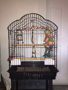 LARGE BIRD CAGE FOR SALE - COMES WITH TOYS!