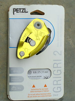 Petzl GRIGRI Belay Device D14BY - Yellow