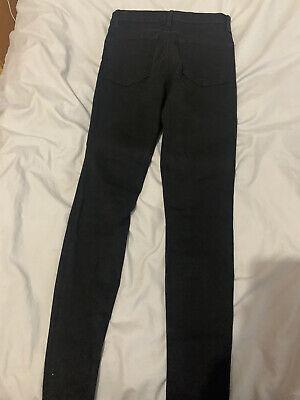 J Brand Skinny Black Jeans size 26