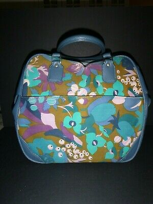 Vintage Samsonite Carry On Luggage Bag Saturn Tote Bag Retro Groovy Abstract