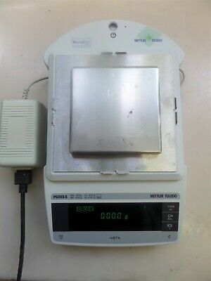 Mettler Toledo Pg203-s Digital Laboratory Balance With Power Supply