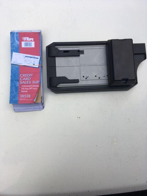 Addressograph Bartizan 4850 Manual Credit Card Imprint & Slips