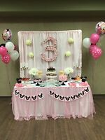 Dessert, candy, and beverage tables customized for any event