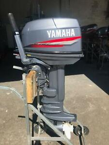 30hp Yamaha CV outboard Southport Gold Coast City Preview