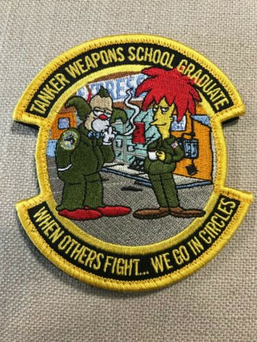 Tanker Weapon School Graduate patch, USAF, Travis AFB KC-10, KC-46 Tanker patch