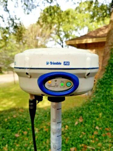 Trimble R6 Model 2 GPS GNSS Glonass UHF 450-470MHz RTK Base Rover Receiver