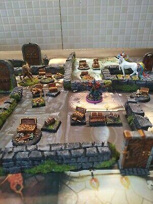 MEGA LOTTO GAMEBOARD zombicide Massive Gloomhaven heroquest 💀 Chests Wall doors