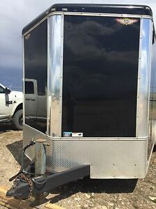 16'x8' enclosed cargo trailer.
