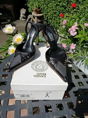 Versace Ladies leather Shoes 39.5