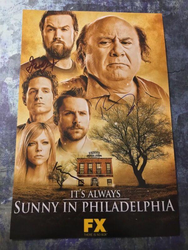 Dennis Mac Dee * IT'S ALWAYS SUNNY IN PHILADELPHIA * Signed 12x18 Photo AD3 COA