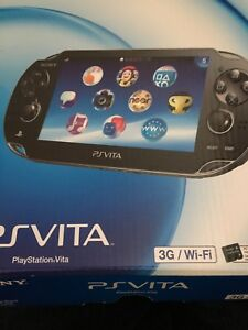 PS vita 3G./wifi Version with 4 gb memory and case