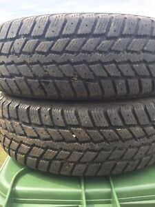 p195/70/14 inch Winter Tires / LOTS OF TREAD / GOOD DEAL