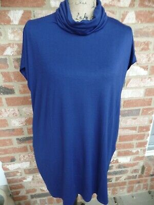 Amelia James Milan Tunic with Pockets Blue  Small  BNWT