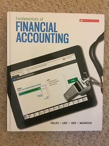Fundamentals of Financial Accounting, 4th Canadian: Philips