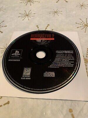 Resident Evil 2 Demo Disc - Capcom, Sony PlayStation 1 PS1, 1999
