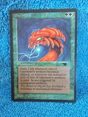 MTG Powerleech    x1    Antiquities      Magic The Gathering Card