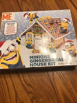 - Despicable Me Minions Gingerbread House Kit Ships N 24h
