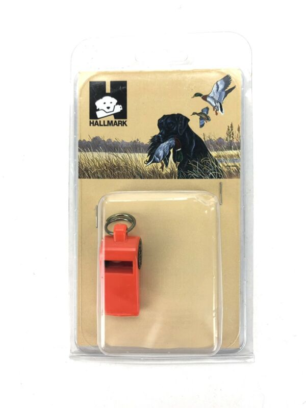 NEW Hallmark Roy Gonia Whistle- Hunting Dog Training Whistle With Easy-To-Blow