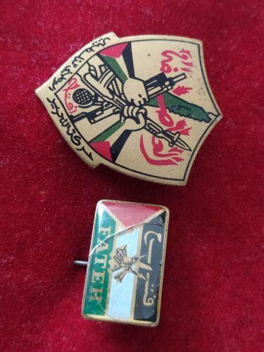 Fatah Palestina PLO  pin badges rare 70s
