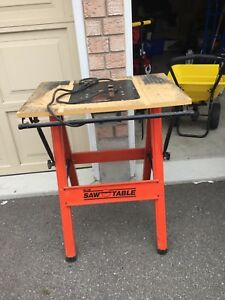 Saw table-no saw