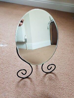 Make-up Metal Framed Mirror