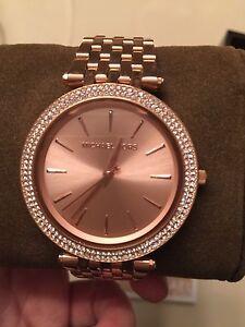 Rose Gold Ladies Michael Kors Watch