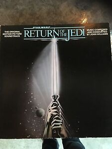 Star Wars return of the Jedi soundtrack used LP