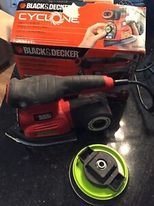 Black and decker cyclone smart select multi sander