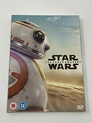 STAR WARS THE FORCE AWAKENS - NEW SLEEVE - DVD SIZE - NO DVD INCLUDED