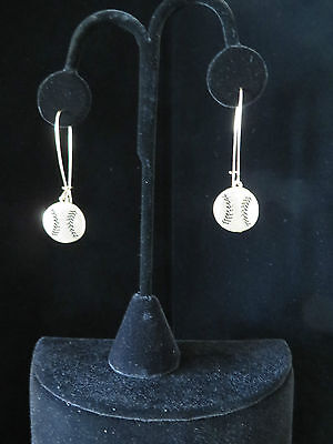 - Baseball or Softball Earrings  - Bronze or Gold tone (1307)