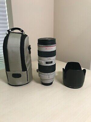 Canon EF 70-200mm f/2.8 L USM Lens (Ver. 1)