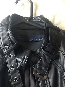 Zara basic womens faux leather jacket Forestville Warringah Area Preview