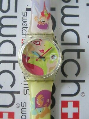 Swatch Oops ! My Nails GK421 2000 Standard Gents 34mm