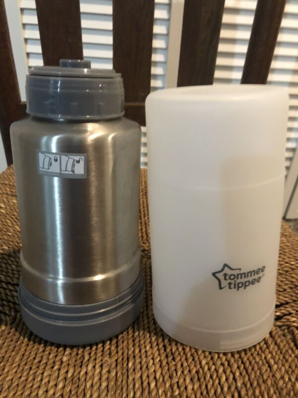 Tommee Tippee Travel Baby Bottle and Food Warmer Portable Thermos New-Open Box