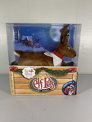 The Elf On The Shelf - Elf Pets Reindeer And Story Book. New