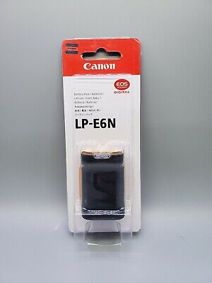 Genuine Canon LP-E6N battery #FAST SHIPPING# (R,5d mark iv iii ii, 80d/70d&more)
