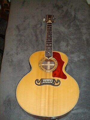 Hand made 12 string acoustic guitar