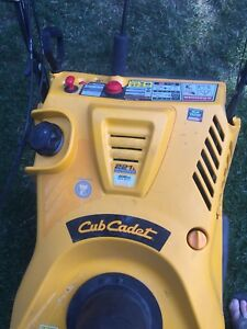 Snow blower for sale like new