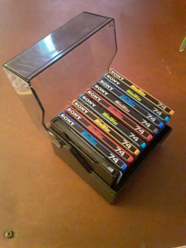 Sony 10 Minidisc 74 min