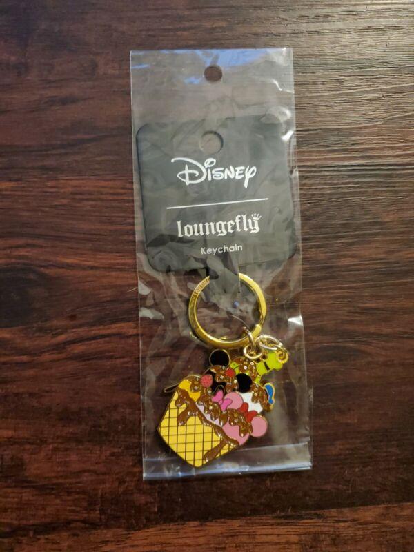 Loungefly Disney Ice Cream Keychain New (sealed)