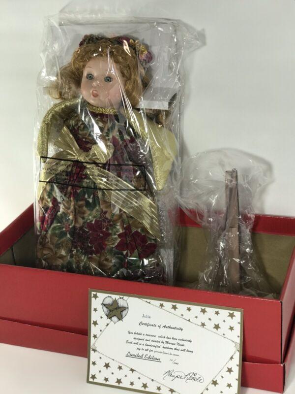 Goebel Angel Doll Bette Ball Original Limited Edition Musical Porcelain Doll New