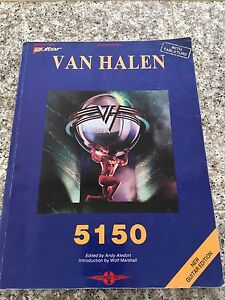 Van Halen 5150 Guitar Sheet Music Book 1986