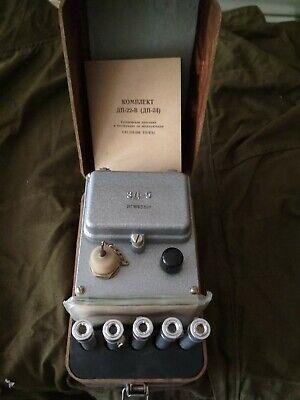 Soviet Ussr Military Dosimeter Of Dp-24 Gamma Radiation Vintage